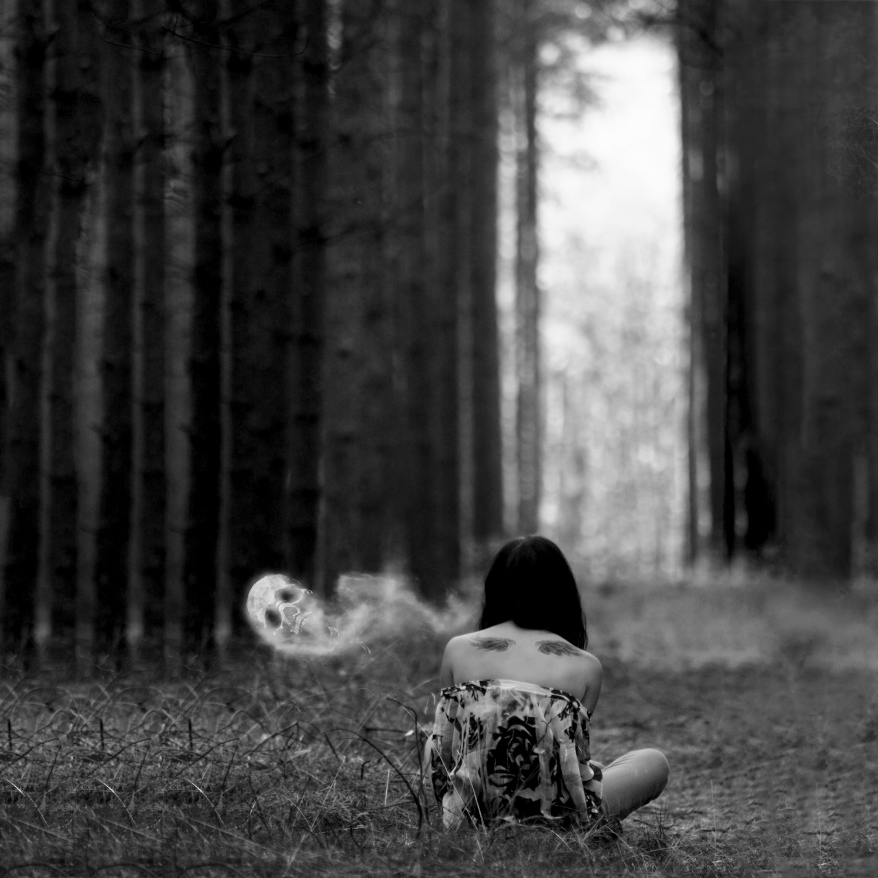 Sad Small Girl Wallpapers Alone With My Demons Pictures Photos And Images For
