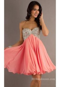 Short Baby Doll Prom Dress Pictures, Photos, and Images