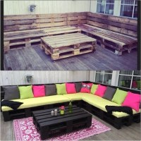 Outdoor Furniture Using Pallets Pictures, Photos, and ...