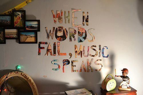 When Words Fail Music Speaks Pictures, Photos, and Images for