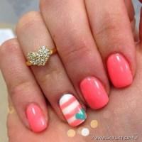 Girly DIY Acrylic Nail Designs