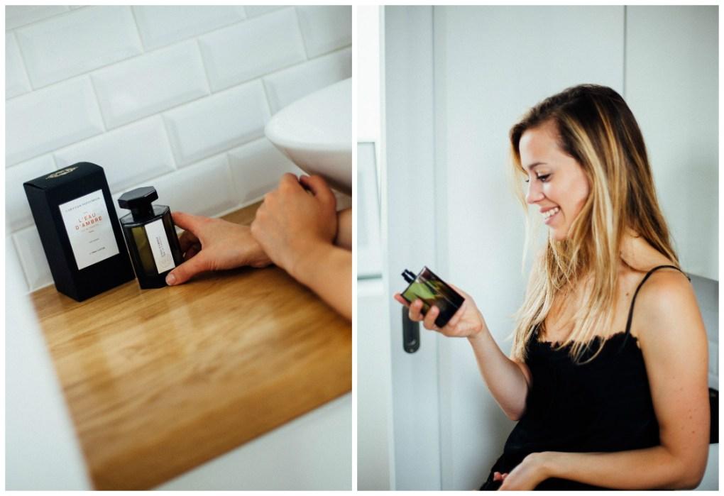 Lovetralala_ma routine matinale, parfum ambre artisan parfumeur