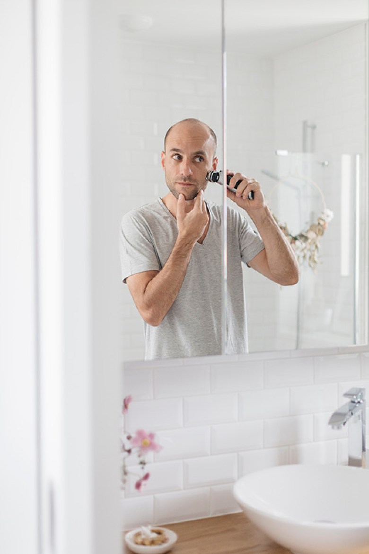 Lovetralala_ma routine matinale, rasoir braun series 9 pour homme