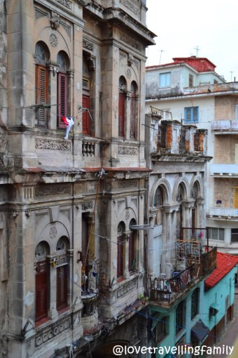 The view from Casa Israel, Havana