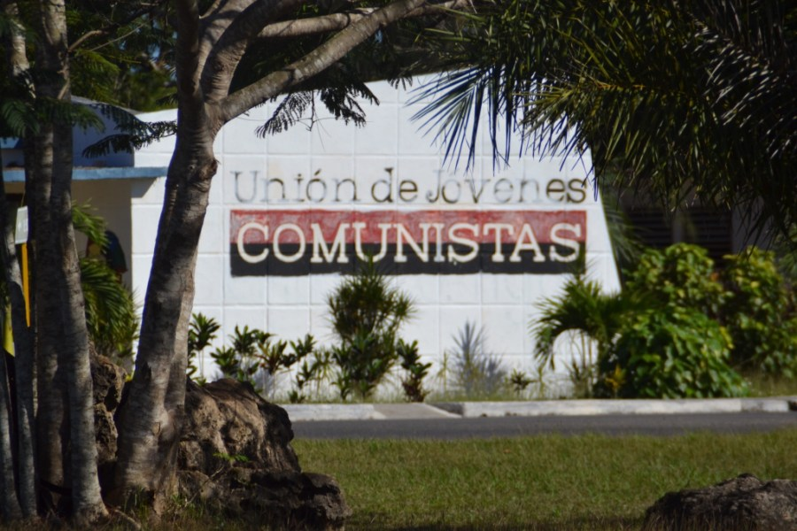Murals in Playa Larga, Cuba
