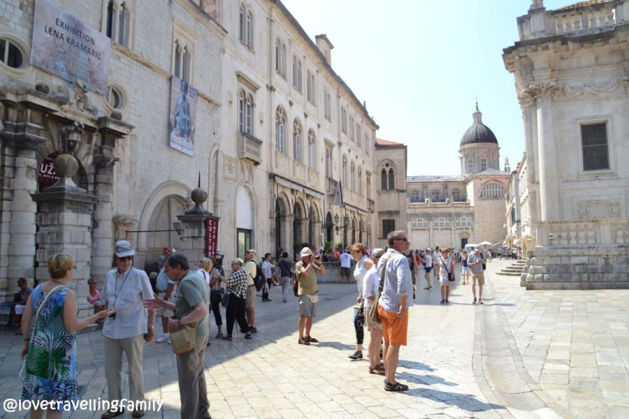 Old Town, Luža Square, Dubrovnik