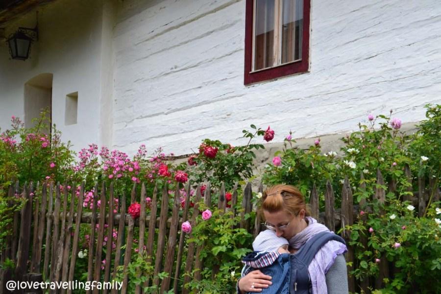 Vlkolinec, Love travelling family in Slovakia