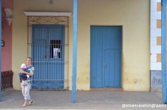 Love travelling family Remedios, Cuba
