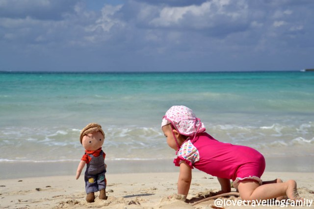 Zosia and Phillip in Playa Las Salinas