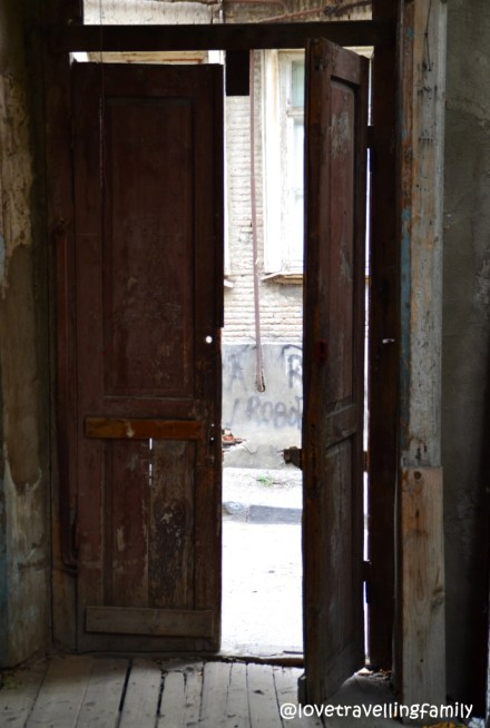 Door, Old Town, Tbilisi, Georgia