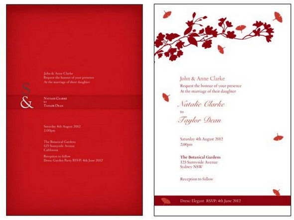 How To Design Wedding Invitations + A Discount!