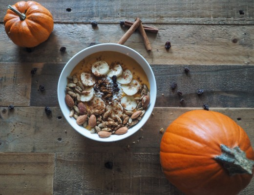 love you more too north dallas blogger Pumpkin Spice Smoothie Bowl