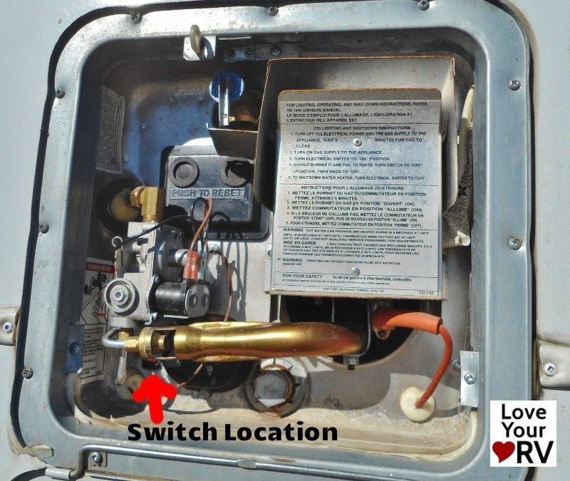 jayco hot water heater wiring diagram