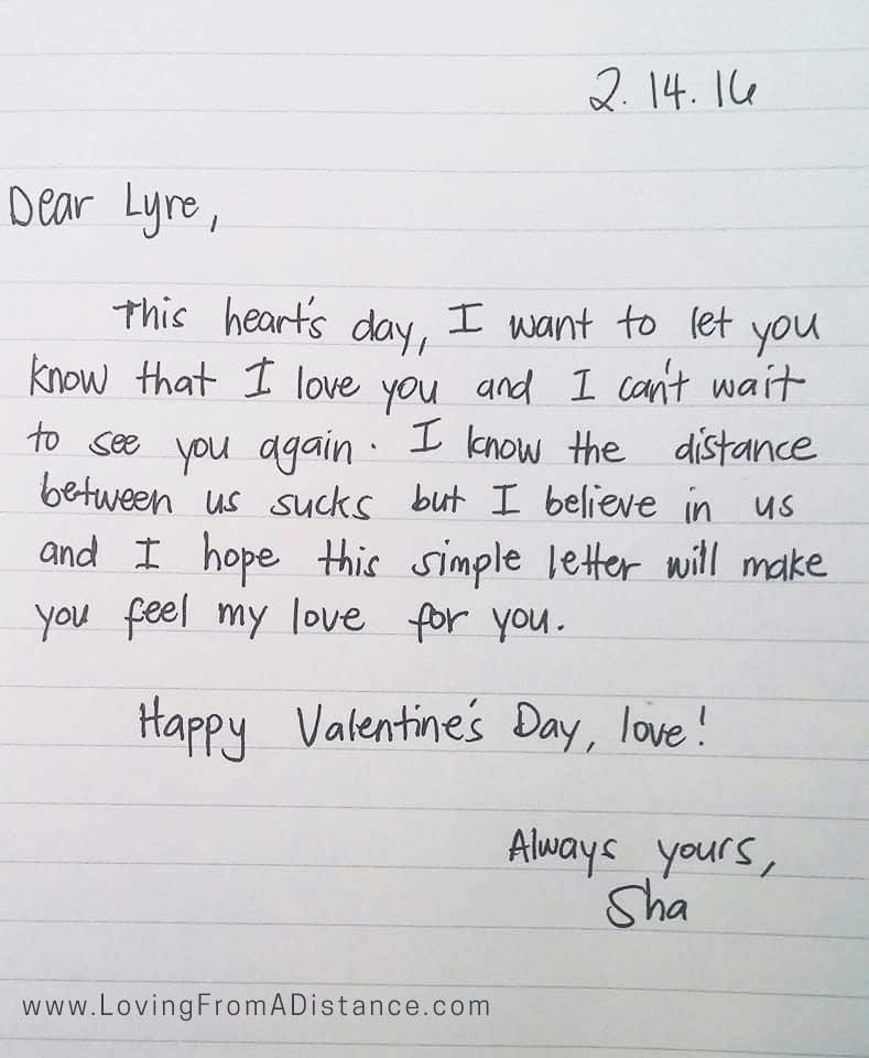 Love Letter Gallery Long Distance Relationship Love Letters - love letter