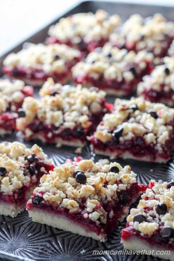 Cranberry Walnut Crumb Bars are easy to make and super delicious ...