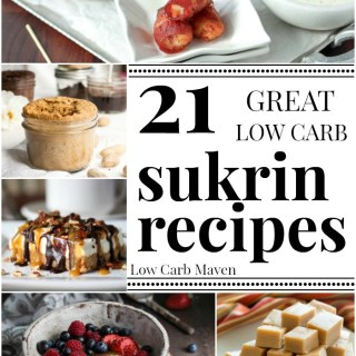 21 great low carb, gluten-free, sugar-free and keto recipes using Sukrin USA Products.
