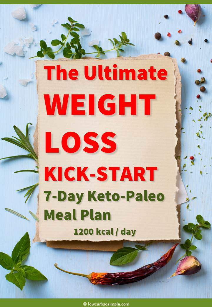 The Ultimate Weight Loss Kick-Start 7-Day Keto-Paleo Meal Plan | Low-Carb, So Simple!