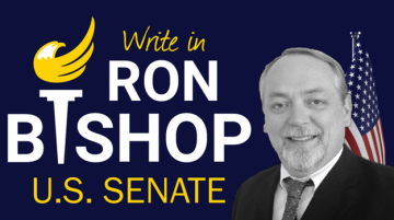 Write in Ron Bishop - U.S. Senate