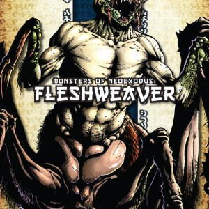 Cover Monsters of NeoExodus: Fleshweaver
