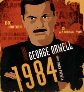 1984 George Orwell unabridged retail Blackstone Audio 273x300 Social Media Update
