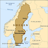 map sweden Top Heavy Unions