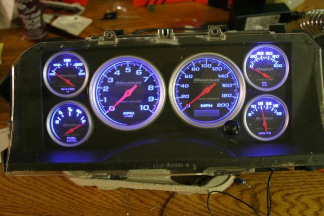 Custom Dash Cluster - Ford F150 Forum - Community of Ford Truck Fans