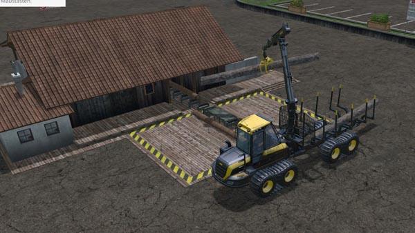 Lumber Mill V 110b Sp Farming Simulator 2015 Mods