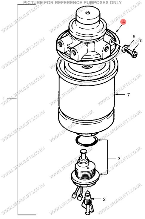 perkins fuel filter price