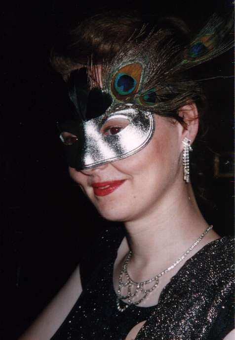 Dinner Tables Rogues' Gallery : Masked Woman