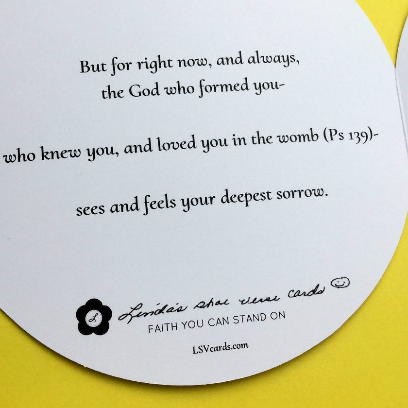 Christian sympathy cards- Specially designed to inspire faith