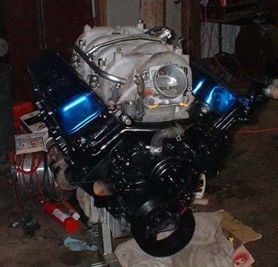 Vortec 8100 81L 496 Engine Swap Info