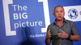 Ernest Cu, President and CEO of Globe Telecoms