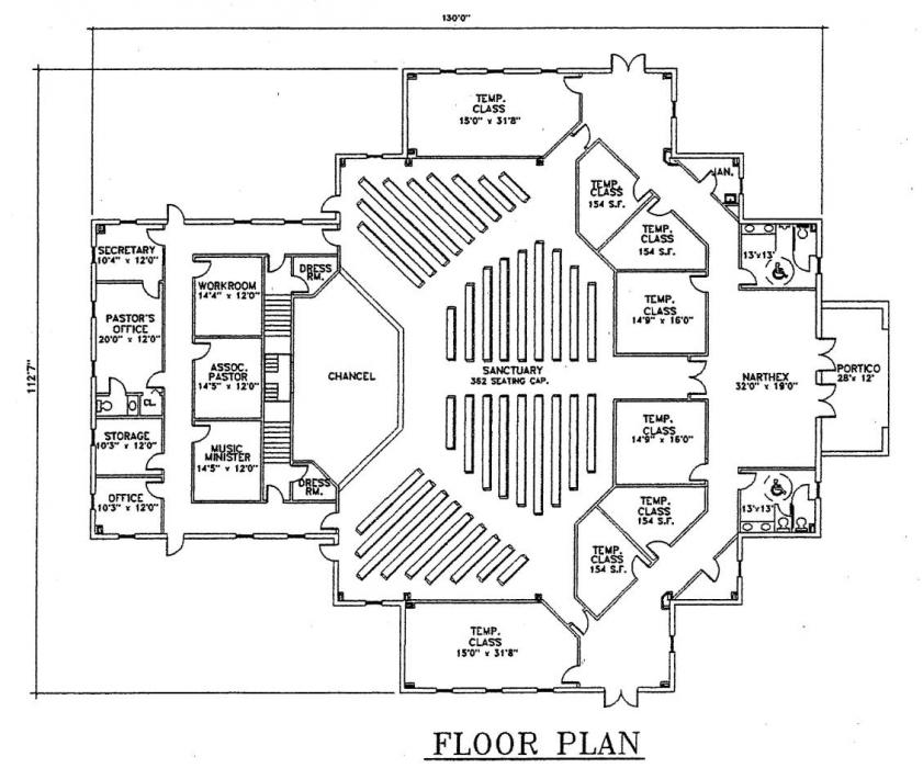 Church Plan 123 Floor Planjpg 841×700 pixels LIFECHURCH New - sample test plan