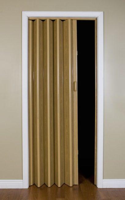 Folding door malibu doors
