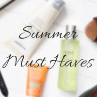 FIVE SUMMER MUST HAVES