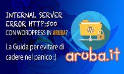 Aruba internal server error