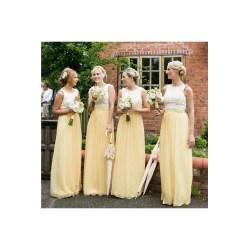 Small Crop Of Yellow Bridesmaid Dresses