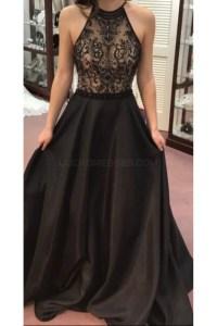Elegant Long Black Prom Formal Evening Party Dresses 3021517