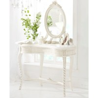 French Dressing Table with Ribbon - Chateau Collection