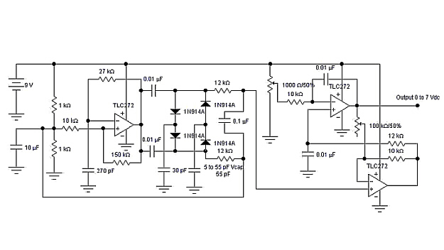 capacitive sensor circuits using expired patent technology