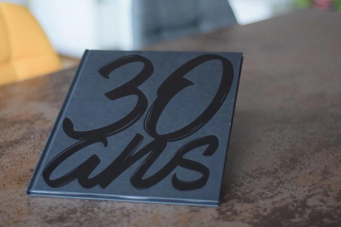 30 ans et un livre!