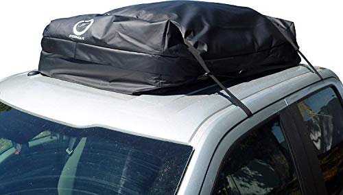 Fedmax Car Rooftop Carrier Waterproof Lock Included Roof Top Luggage Bag 20cft Use With
