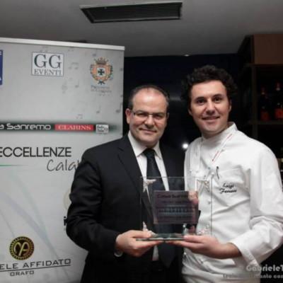 10  Nomina di Ambasciatore della buona Calabria a tavola - cena di gala  Festival di Sanremo 2014