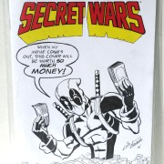 Deadpool's Secret Wars Sketchcover
