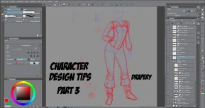Character Design Tips Part 3 Drapery