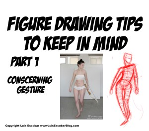 Figure drawing tips to keep in mind part 1 conscerning gesture