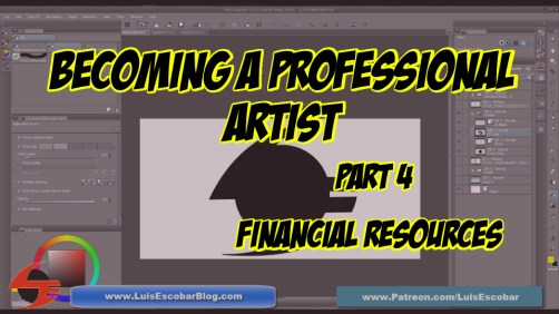 Becoming a Professiona Artist Part 04 Financial Resources