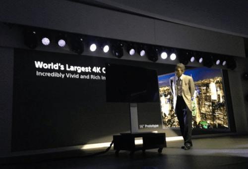 Prototipo OLED 4K Sony