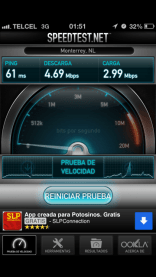 speedtest telcel