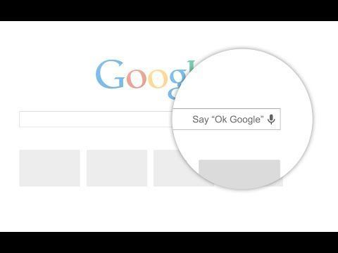 "Video thumbnail for youtube video Te mostramos cómo activar ""OK Google"" en Chrome"